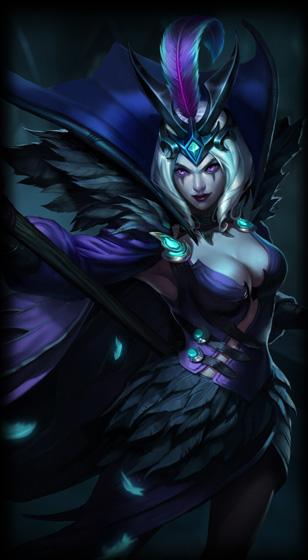 Ravenborn Leblanc :: League of Legends (LoL) Champion Skin ...  Ravenborn Lebla...