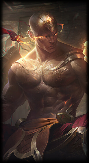 God Fist Lee Sin Skin