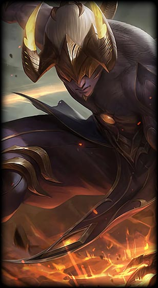 Nightbringer Lee Sin Prestige Edition Skin