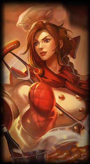 Barbecue Leona Skin