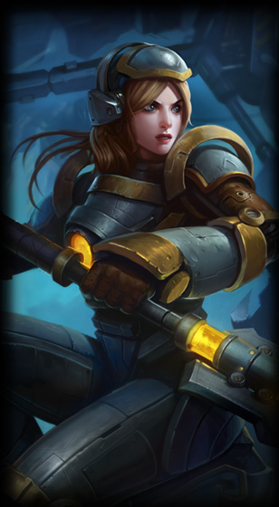 Steel Legion Lux Skin