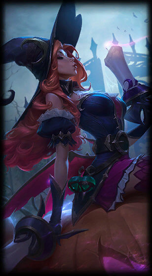 Bewitching Miss Fortune Skin