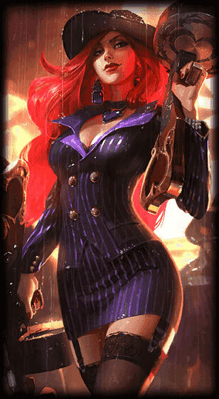 Crime City Miss Fortune Skin