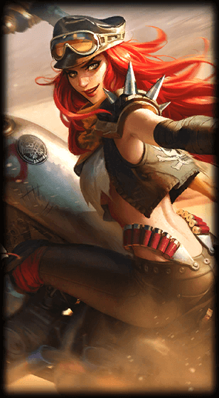 Road Warrior Miss Fortune Skin