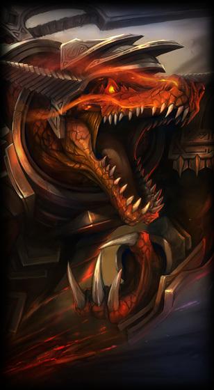 Hextech Renekton League Of Legends Lol Champion Skin On Mobafire