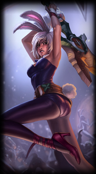 Battle Bunny Riven Skin