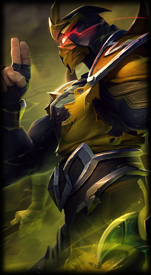 Yellow Jacket Shen Skin