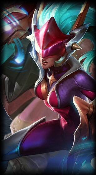 Super Galaxy Shyvana Skin
