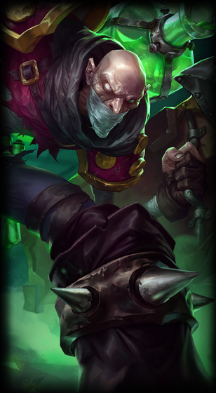 League of Legends Singed Build