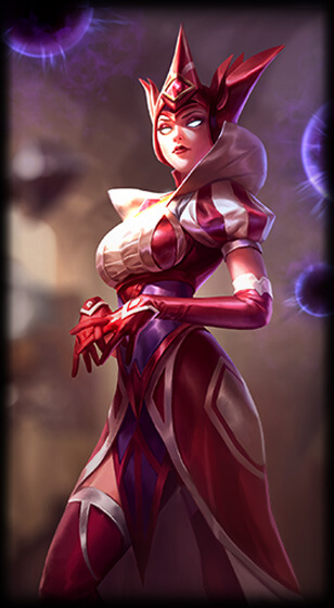 Queen of Diamonds Syndra Skin