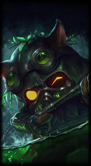 Little Devil Teemo League Of Legends Lol Champion Skin On Mobafire