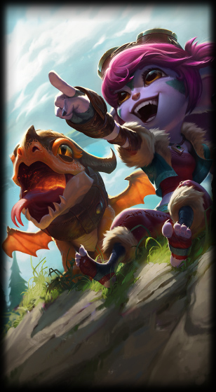 Dragon Trainer Tristana Skin