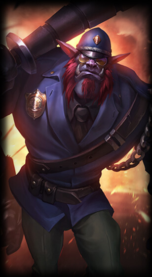 Constable Trundle Skin