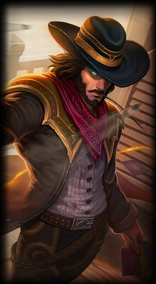 High Noon Twisted Fate Skin