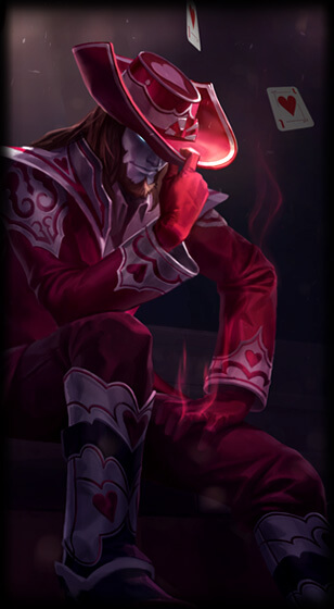 Jack of Hearts Twisted Fate Skin
