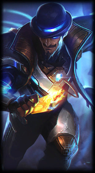 Pulsefire Twisted Fate Skin