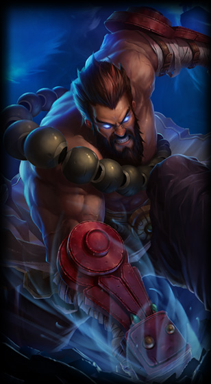 Spirit Guard Udyr Portrait Skin