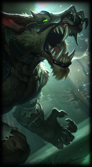 Grey Warwick League Of Legends Lol Champion Skin On Mobafire