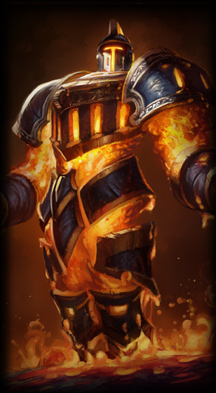 Scorched Earth Xerath Skin