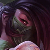 Grande Pølla played as Akali