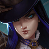 Caitlyn countering Miss Fortune
