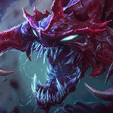 BaniKhan played as Cho'Gath