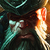 Na Dawn played as Gangplank
