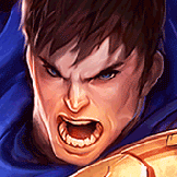쓰리컨드 played as Garen