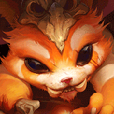 Gnar countering Pantheon