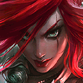 Huya CaiqiKate9 played as Katarina