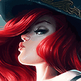Emdiel played as Miss Fortune