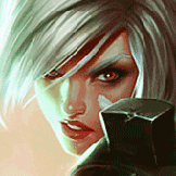 Eve Luv played as Riven