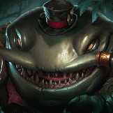 Tahm-kench countering Olaf