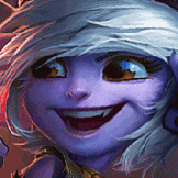 Bean played as Tristana
