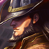 Sherlock Fate played as Twisted Fate