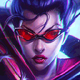 E 잉 played as Vayne