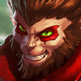 Rambe played as Wukong