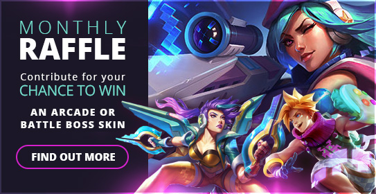 July Monthly Giveaway - Arcade & Battle Boss! :: League of