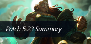 Check out the patch 5.23 summary!