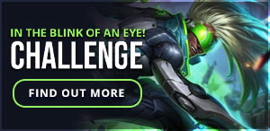 Weekly Challenge - In The Blink of an Eye!