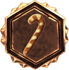 LoL Rune: Mark of the Crippling Candy Cane