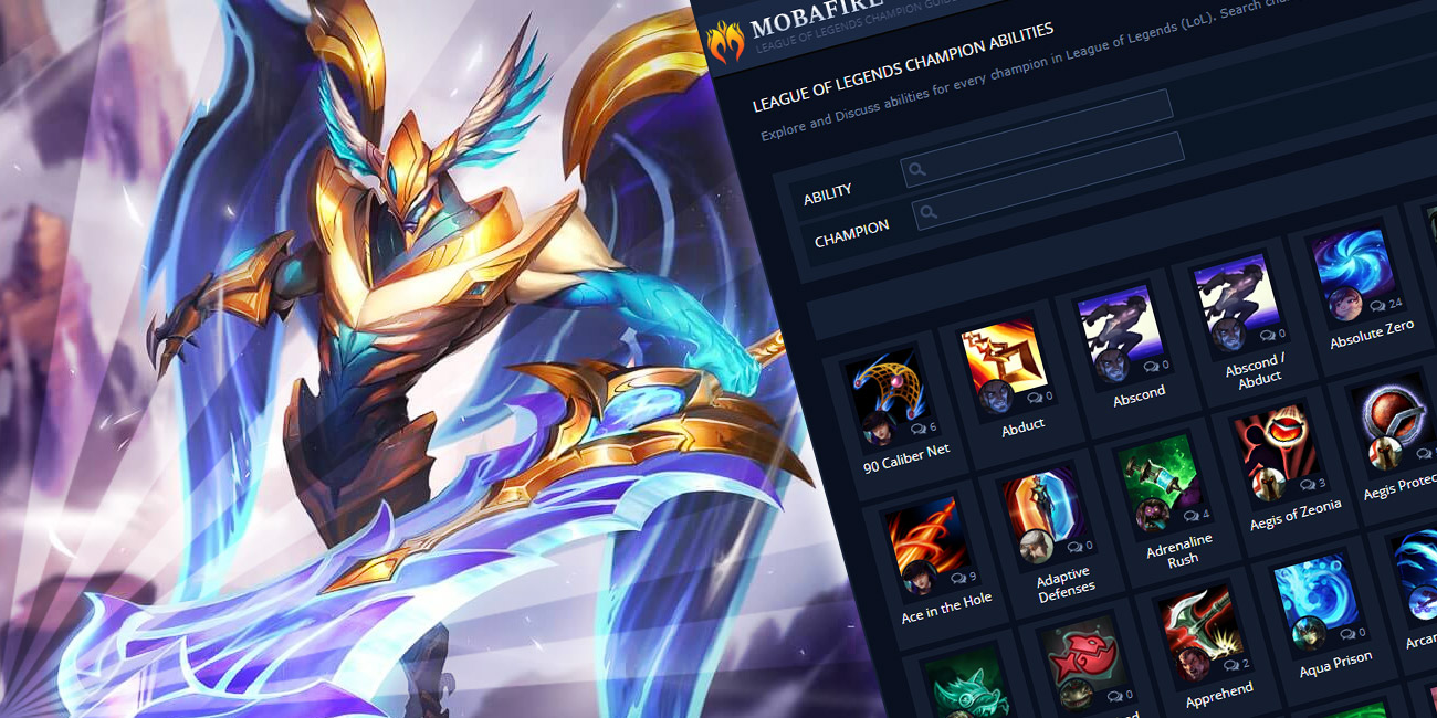 Champion Abilities for League of Legends (LoL) : MOBAFire