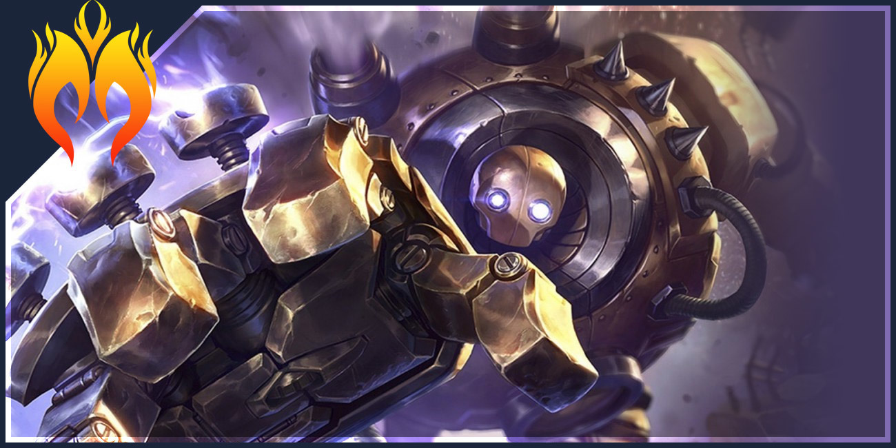 Blitzcrank Build Guide : Blitzcrank The Robocop Of LoL